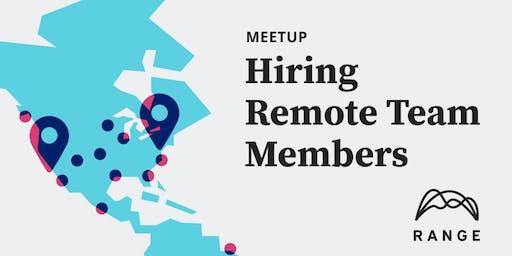 Hiring Remote Team Members