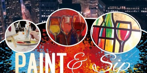 Delicious Creations presents PAINT & Sip