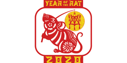 2020 New Year Challenge-The Year of the Rat -Orlando