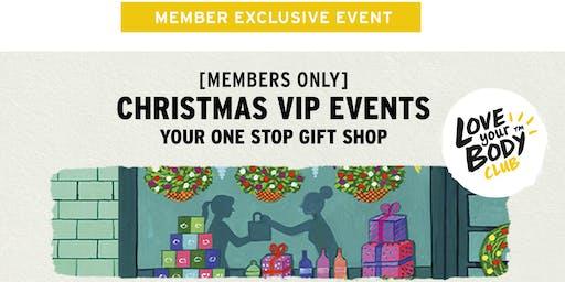 The Body Shop Miranda, NSW | Christmas VIP Event