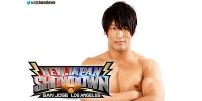 New Japan Showdown Meet & Greet in Los Angeles