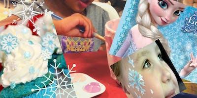 Pajama cupcake party with Elsa ( 3-6 yo with caregiver)