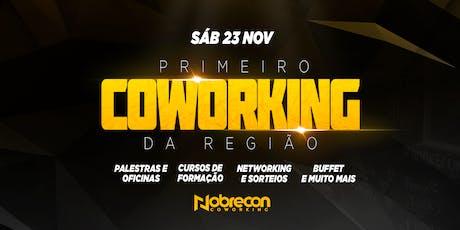 INAUGURAÇÃO - NOBRECON COWORKING ingressos