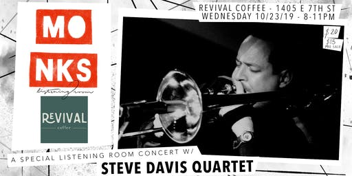 Steve Davis Quartet - Live At Monks
