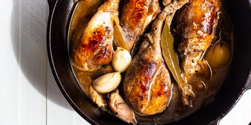 Basics' Blonde-Style Chicken Adobo