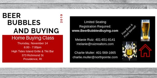 Beer, Bubbles, and Buying - Homebuyer Class