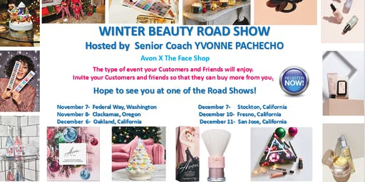 Winter Beauty Road Show by Yvonne Pacheco