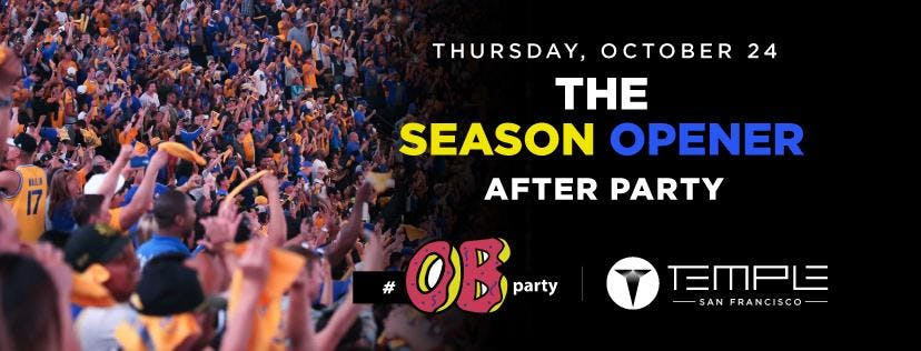 The Season Opener After Party