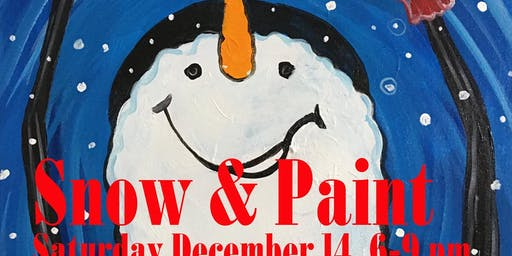 Snow & Paint While You Sip Party!