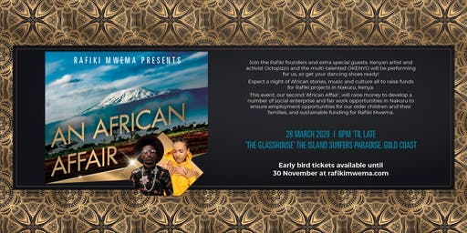 An African Affair by Rafiki Mwema / Gold Coast