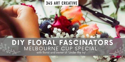 DIY Floral Headpieces - MELBOURNE CUP SPECIAL