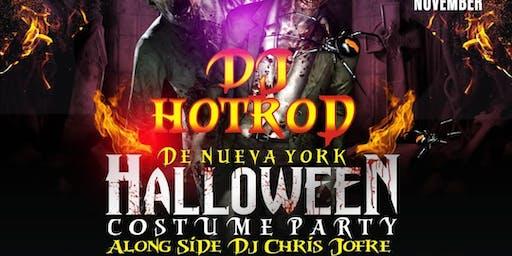 NYC DJ HOTROD HALLOWEEN BASH @ XTC JACO COSTA RICA