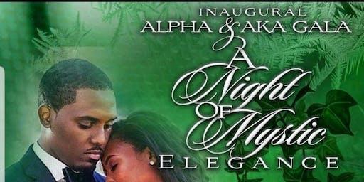 Inaugural Alpha/AKA GALA - A Night of Mystic Elegance
