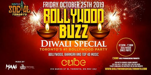 BOLLYWOOD BUZZ - Diwali Special Bollywood Party!