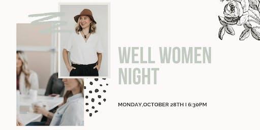 Well Women Night