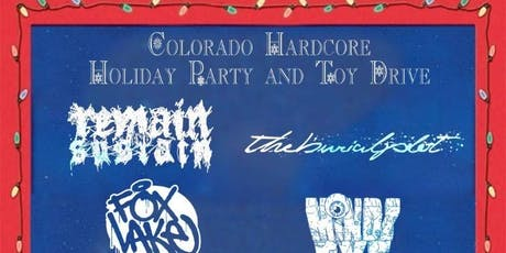 Colorado Hardcore Holiday Party and Toy Drive tickets