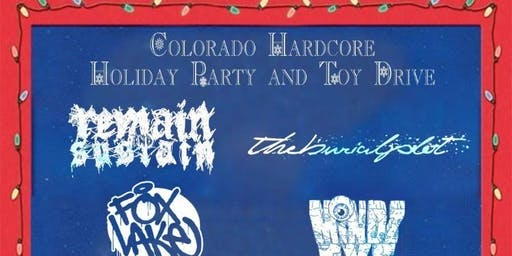 Colorado Hardcore Holiday Party and Toy Drive