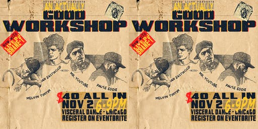 YOUNG LIONS PRESENTS | an actually GOOD WORKSHOP feat. ian, melvin timtim, mr. youtube, & pause eddie | sounds by shane-t