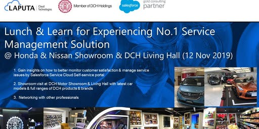 Lunch and Learn for Experiencing No.1 Service Management Solution