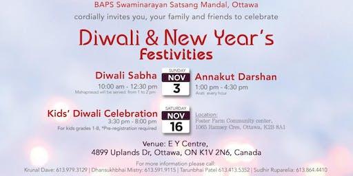 OTTAWA - Diwali Annakut & New Year Festival - 2019