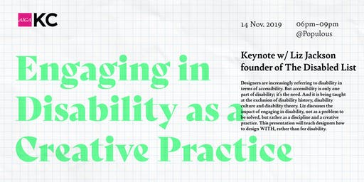 Engaging in Disability as a Creative Practice