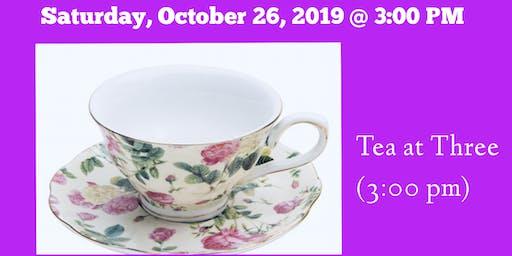 Tea @ 3:00 PM  - Women of God's Beauty