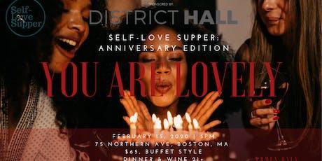 Self-Love Supper: Anniversary Edition  tickets