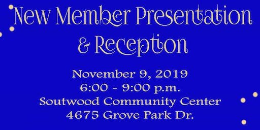 Magnetic Mu Mu Sigma Chapter's New Member Presentation and Reception