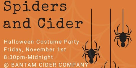 Spiders and Cider tickets