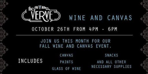 Wine and Canvas at the Verve