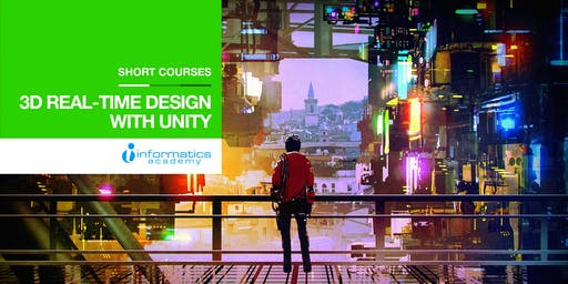 3D Real-time Design with Unity Short Course