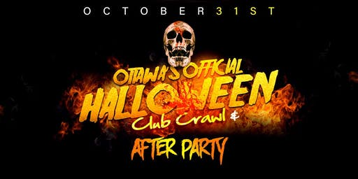 Ottawa's Official Halloween  Crawl & After-Party