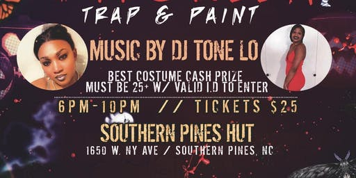 Ladies Halloween Trap & Paint