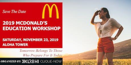 2019 McDonald's Education Workshop tickets