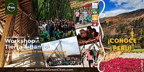 Workshop Internacional de Construcción con Tierra & Bambú entradas