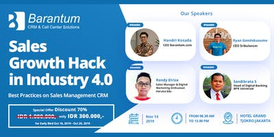 Sales Growth Hack in Industry 4.0 - Best Practice Sales Management with CRM