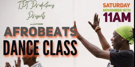 Afro-Beats Exercise Dance Class Takes Bed-Stuy w/Jamie J tickets