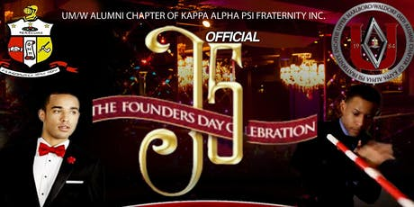 OFFICIAL DMV CHAPTER of Kappa Alpha Psi, Founders' Day (J5) Weekend Events tickets