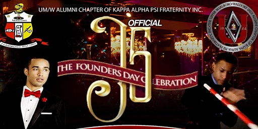 OFFICIAL DMV CHAPTER of Kappa Alpha Psi, Founders' Day (J5) Weekend Events