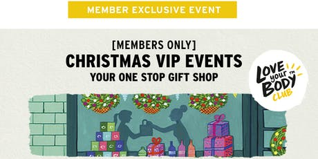 The Body Shop Hobart, TAS   Christmas VIP Event tickets