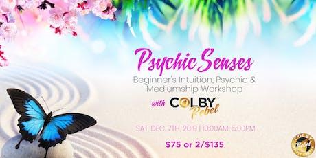 Psychic Senses: Beginner's Intuition, Psychic & Medium Workshop tickets
