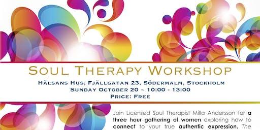 Soul Therapy Workshop, Stockholm, Sweden