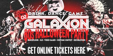 GALAXION | 80s HALLOWEEN | ONLINE TICKETS tickets