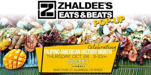 Zhaldee's Eats And Beats Pop Up
