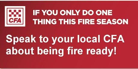 Sassafras-Ferny Creek CFA Fire Information Session tickets