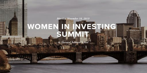 2019 Women in Investing Summit at HBS
