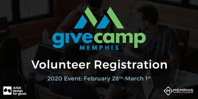 GiveCamp Memphis / Design for Good 2020