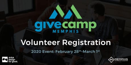 GiveCamp Memphis / Design for Good 2020 tickets