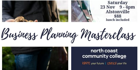 Business Planning Masterclass with Mark Napper