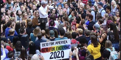 Clipboarding for Presidential Candidate Beto O'Rourke | Birmingham AL